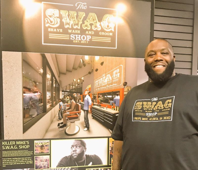 Killer Mike to open barber shop inside Atlanta Hawks' PhilipsArena